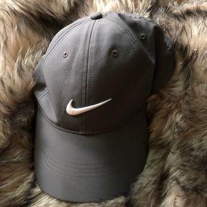 Grey Nike Baseball Hat